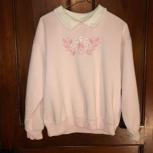 True vintage pink sweater